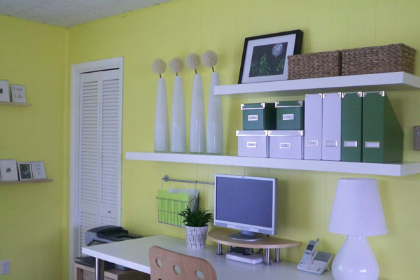 Pastel Home Office Design Ideas